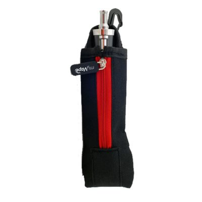 Single Zipper Bag (Black/Red) Θήκη