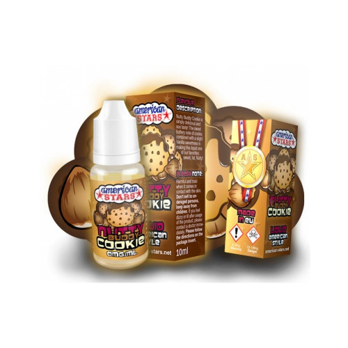 AMERICAN STARS – NUTTY BUDDY COOKIE 10ML
