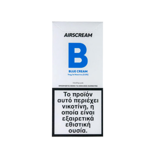 AirScream - Pops Blue Cream 4 x 1.2ml 19mg Salt