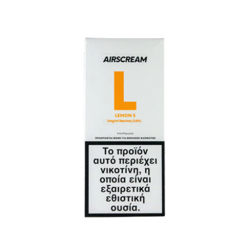 AirScream - Pops Lemon S 4 x 1.2ml 19mg Salt