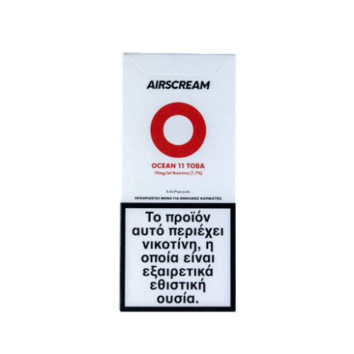 AirScream - Pops Ocean 11 Toba 4 x 1.2ml 19mg Salt