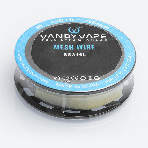 Vandy Vape - Mesh Wire SS316L 5ft 1.2ohm